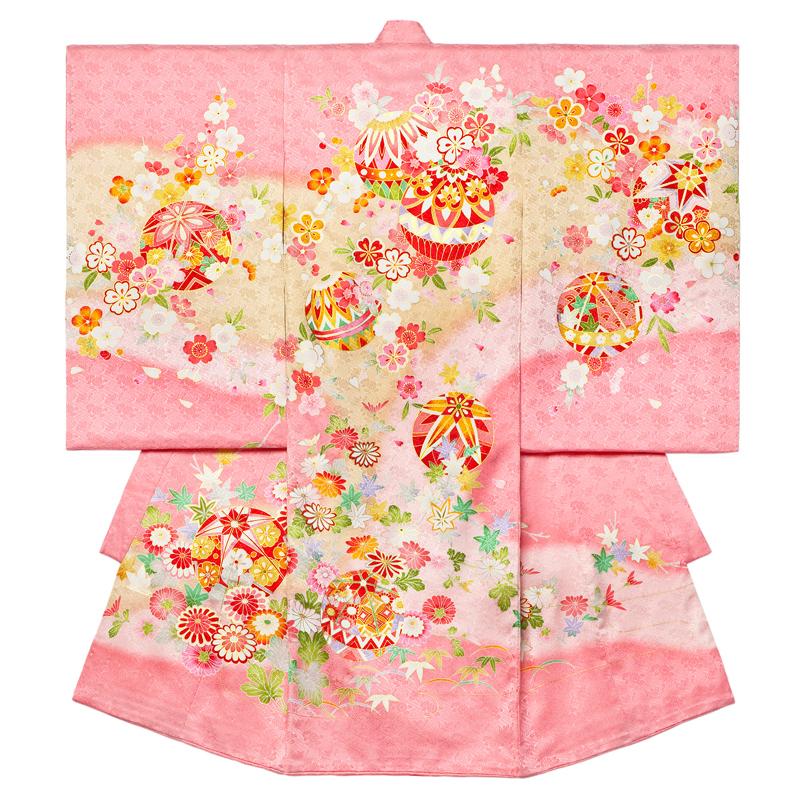 お宮参り 女の子の着物 8