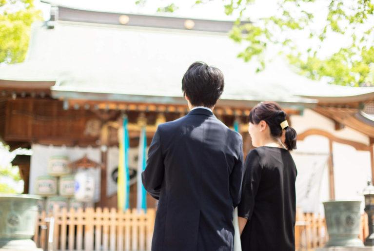 お宮参り ママ服装 タイトル