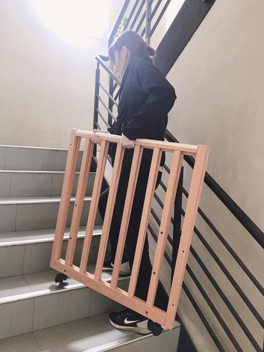 ベビーベッド 階段(90サイズ)