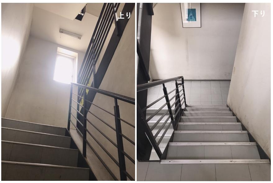 階段上り下り 画像