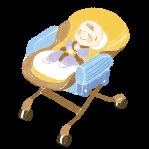 日中の赤ちゃんの居場所