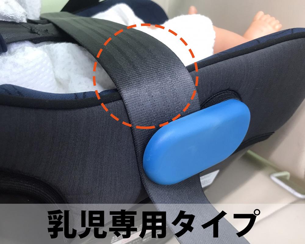 シートベルト固定ステップ3