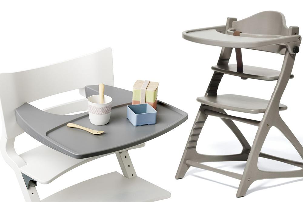 テーブル付きハイチェア