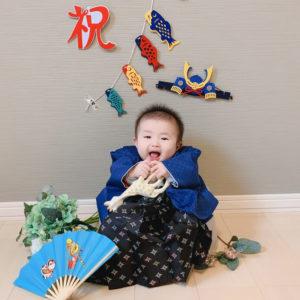 袴風カバーオール