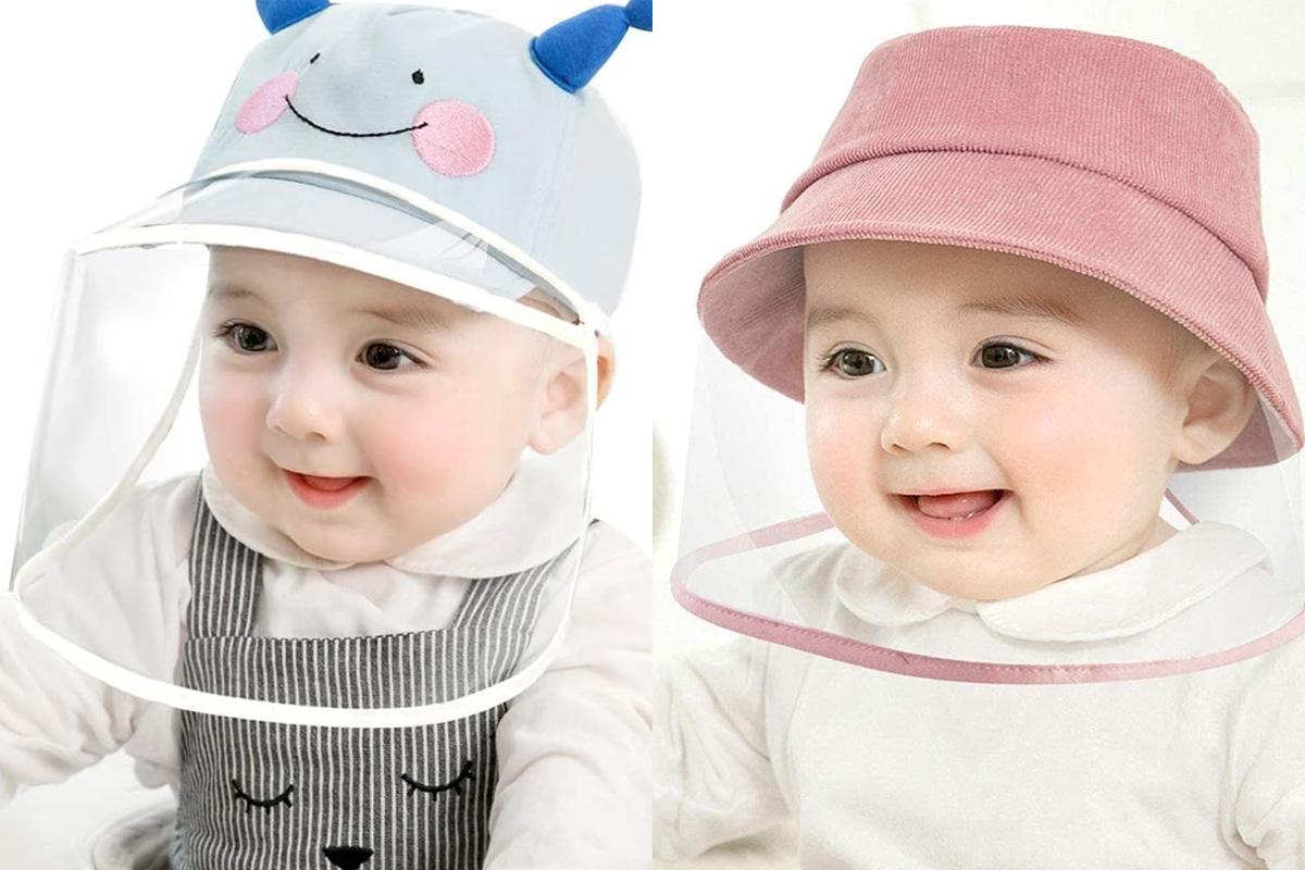 赤ちゃん用帽子シールド