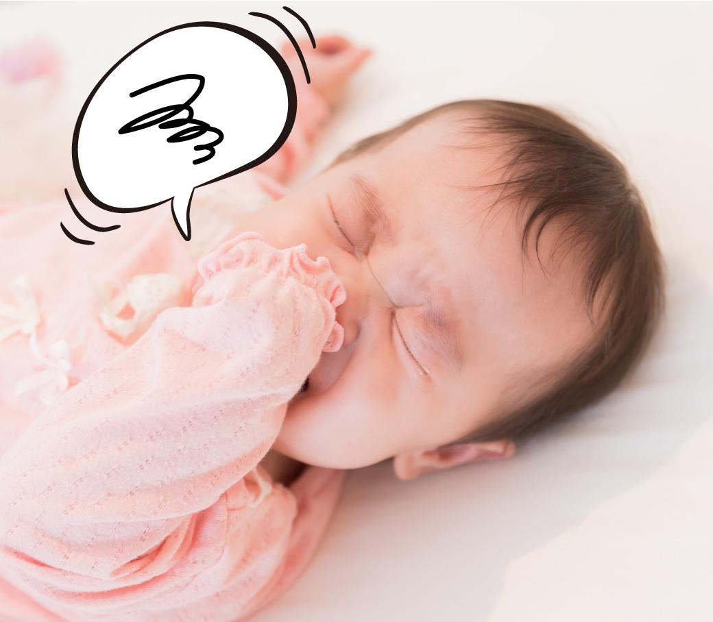 ベビーベッドを嫌がる赤ちゃん