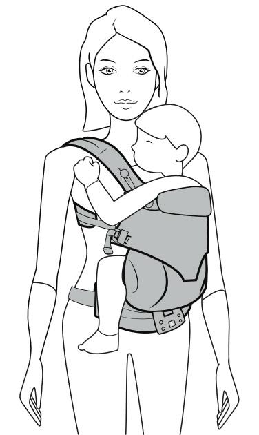 エルゴ横抱き